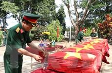 Đắk Nông: Truy điệu, an táng hài cốt 10 liệt sỹ thuộc Trung đoàn 271