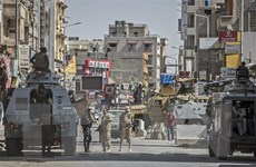 Ai Cập tiêu diệt 18 phần tử khủng bố ở thành phố Bir al-Abd