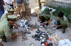 Tiêu hủy lô hàng vi phạm trị giá trên 3,6 tỷ đồng tại Quảng Bình