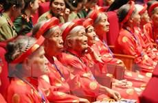 Gặp mặt Bà mẹ Việt Nam anh hùng - Những câu chuyện lay động lòng người