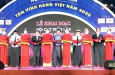 Khai mạc hội chợ triển lãm tôn vinh hàng Việt năm 2020