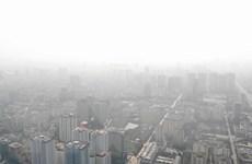 Ô nhiễm không khí Hà Nội ở ngưỡng xấu do yếu tố thời tiết bất thường