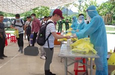 Hòa Bình, Quảng Trị xác định, sàng lọc các trường hợp về từ Đà Đẵng