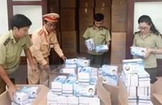 Quảng Bình: Phát hiện vụ vận chuyển số lượng lớn khẩu trang y tế