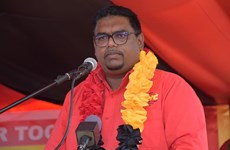 Tân Tổng thống Guyana Irfaan Ali tuyên thệ nhậm chức