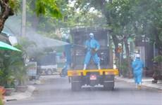 Đà Nẵng: Khử khuẩn khu vực nguy cơ lây nhiễm cao ở quận Sơn Trà