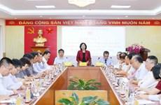 Trưởng ban Dân vận TW gặp mặt Trưởng đại diện Việt Nam ở nước ngoài
