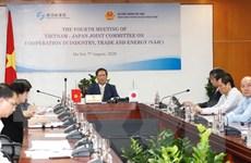 Việt Nam-Nhật Bản thúc đẩy hợp tác thương mại, công nghiệp, năng lượng