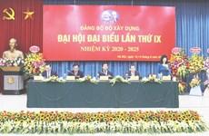 Đại hội Đảng bộ Bộ Xây dựng: Công tác tư tưởng là nhiệm vụ hàng đầu