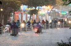 Trọng tâm mưa lớn tại Bắc Bộ tập trung vào ngày và đêm 18/8