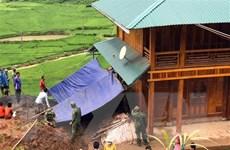 Sơn La: Mưa lũ khiến hàng chục hộ dân phải di dời khẩn cấp