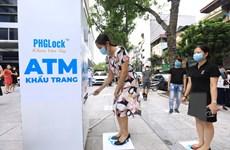 Hà Nội triển khai cây ATM phát khẩu trang miễn phí cho người dân