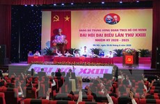 Bầu 25 người vào Ban Chấp hành Đảng bộ TW Đoàn nhiệm kỳ 2020-2025