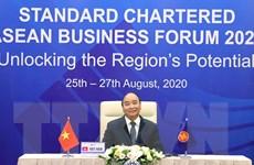 Thủ tướng dự Diễn đàn Kinh doanh ASEAN Standard Chartered 2020