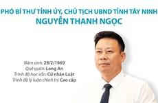 [Infographics] Tiểu sử Phó Bí thư Tỉnh ủy, Chủ tịch UBND tỉnh Tây Ninh