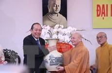 Phó Thủ tướng Trương Hòa Bình chúc mừng lễ Vu Lan-báo hiếu