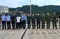 Lào Cai: Bàn giao đối tượng người nước ngoài có lệnh truy nã đặc biệt