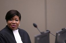 Mỹ áp dụng trừng phạt kinh tế đối với công tố viên ICC