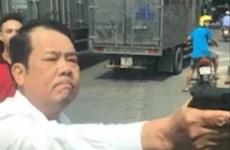 Bắt khẩn cấp một giám đốc dùng súng đe dọa tài xế xe tải ở Bắc Ninh