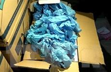 TP.HCM: Phát hiện số lượng lớn găng tay y tế kém chất lượng