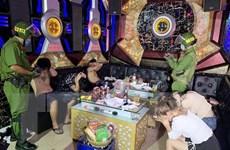 An Giang: 7 thanh niên dương tính với ma túy trong quán karaoke