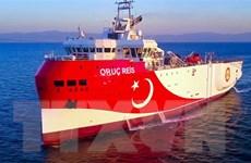 Tàu thăm dò Oruc Reis của Thổ Nhĩ Kỳ quay trở về vùng biển phía Nam