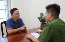 Phó Trưởng ban Tuyên giáo Huyện ủy Tam Đảo bị khởi tố vì vu khống
