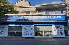 Tạm giam giám đốc Công ty thiết bị y tế Hà Tĩnh vì nâng khống hóa đơn