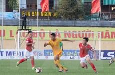 """V-League"""" Thanh Hóa mất điểm trước tân binh Hồng Lĩnh Hà Tĩnh"""