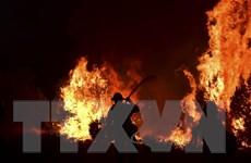 Cháy rừng tiếp tục hoành hành tại bang California của Mỹ