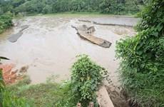 Yên Bái: Mỏ quặng sắt làng Mỵ xả nước thải thẳng ra môi trường