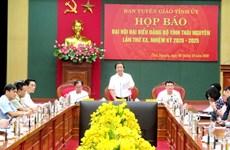 4 nhiệm vụ quan trọng của Đại hội Đảng bộ tỉnh Thái Nguyên lần thứ XX
