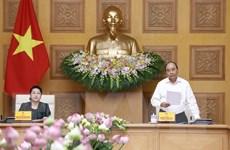 Ban Cán sự Đảng Chính phủ làm việc với Đảng đoàn Quốc hội