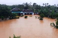 Trung Trung Bộ mưa lũ diễn biến phức tạp, nguy cơ cao xảy ra lũ quét