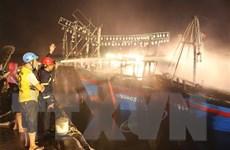 Nghệ An: Ngư dân trắng tay khi 4 tàu cá bị cháy liên hoàn