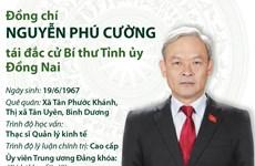 Tiểu sử hoạt động của Bí thư Tỉnh ủy Đồng Nai Nguyễn Phú Cường