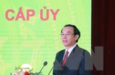 Ông Nguyễn Văn Nên được bầu giữ chức Bí thư Thành ủy TP.HCM