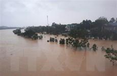 Lũ trên các sông ở Quảng Trị lên nhanh, cao hơn lũ lịch sử năm 1999