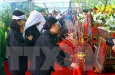 Sạt lở đất Rào Trăng 3: Trang trọng lễ an táng các liệt sĩ tại Nghệ An