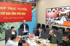 Thủ tướng Nguyễn Xuân Phúc trực tiếp nghe dự báo về cơn bão số 9