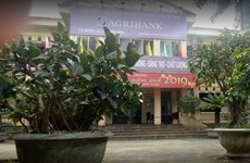 Hòa Bình: Chi nhánh Agribank huyện Lạc Sơn bị cướp hơn 200 triệu đồng