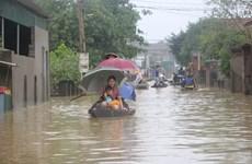 Nghệ An: Hàng ngàn hộ dân vùng trũng Hưng Nguyên bị cô lập hoàn toàn