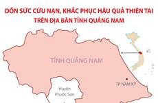 Dốc sức cứu nạn, khắc phục hậu quả thiên tai trên địa bàn Quảng Nam