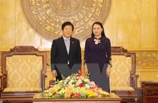 Chủ tịch Quốc hội Hàn Quốc Park Byeong-Seug làm việc tại Ninh Bình