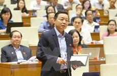 Bộ trưởng Tài nguyên Môi trường trả lời chất vấn về thủy điện nhỏ
