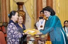 Phó Chủ tịch nước gặp mặt Cựu Đoàn Công tác xã hội Gia Định