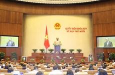 Quốc hội biểu quyết Nghị quyết về kế hoạch phát triển kinh tế-xã hội