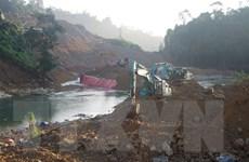 Vụ sạt lở Thủy điện Rào Trăng 3: Đã tìm thấy thêm một thi thể nạn nhân
