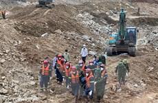 Hình ảnh cuộc tìm kiếm thi thể nạn nhân tại Thủy điện Rào Trăng 3