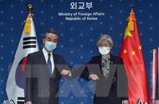 Hàn-Trung duy trì hợp tác xây dựng hòa bình trên Bán đảo Triều Tiên